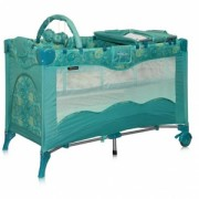 Манеж-кровать Bertoni Travel Kid 2 Layers Space Aquamarine