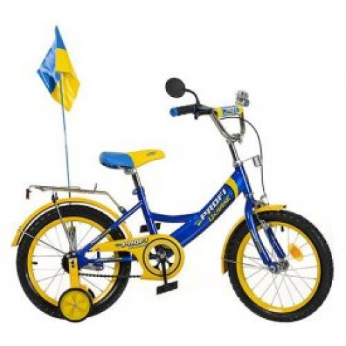 "Велосипед Profi Trike P1649 UK-1 16"" Ukraine Голубой (УТ-109948)"