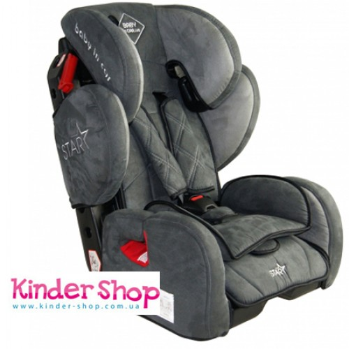 Автокресло Babyincar Star Gray (64341)