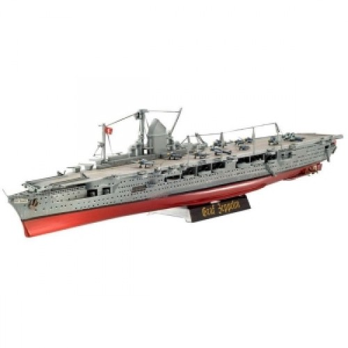 "Авианосец (1939-1945гг.,Германия) German aircraft carrier ""Craft Zeppelin"", 1:720 (PS05055)"