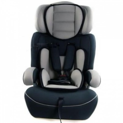 Автокресло Bambi (Metr+) M 0487 Grey Black (43666)